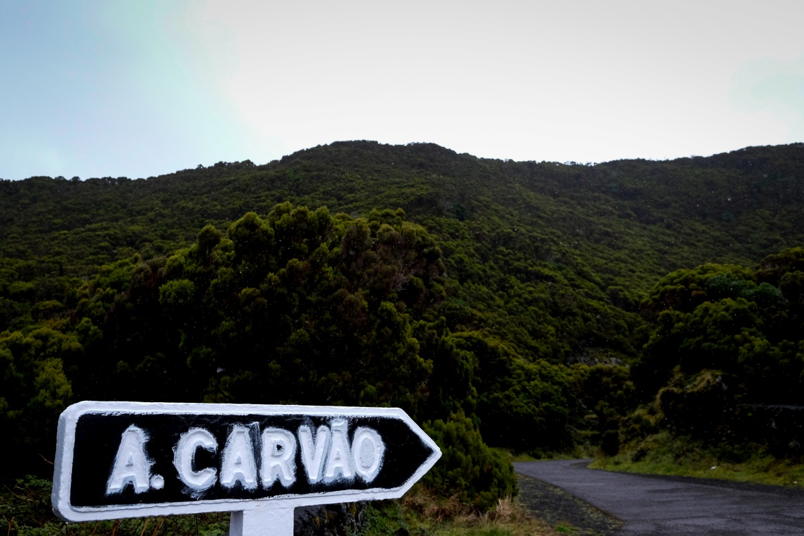AÇORES - Terceira, Algar do Carvão