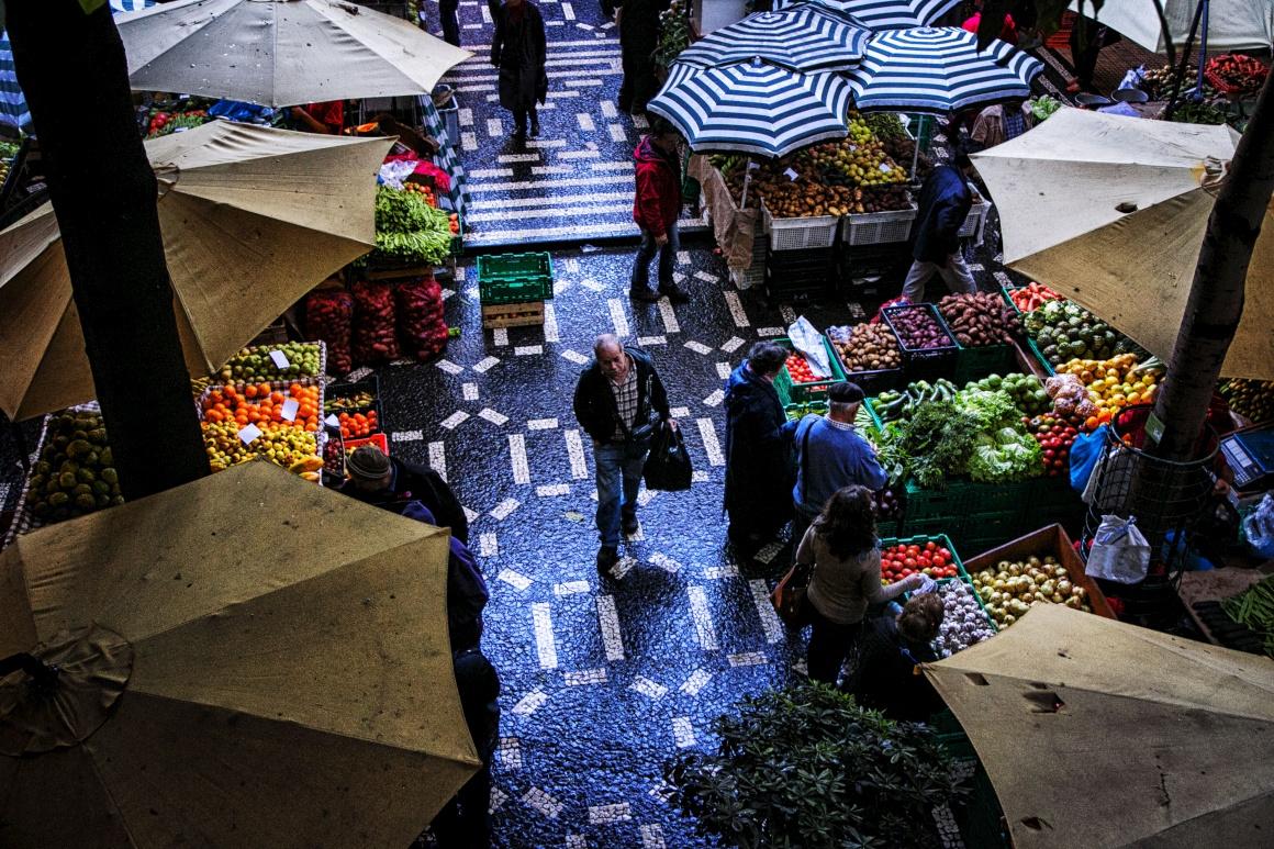 MADEIRA, mercado dos Lavradores