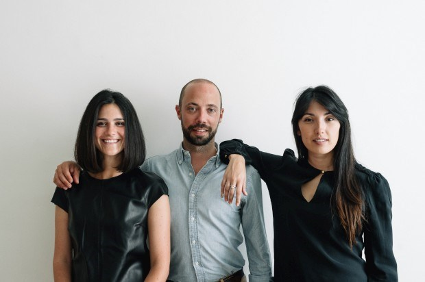 A equipa da Yoochai: Rita Palma, Pedro Lucena e Christina Lock