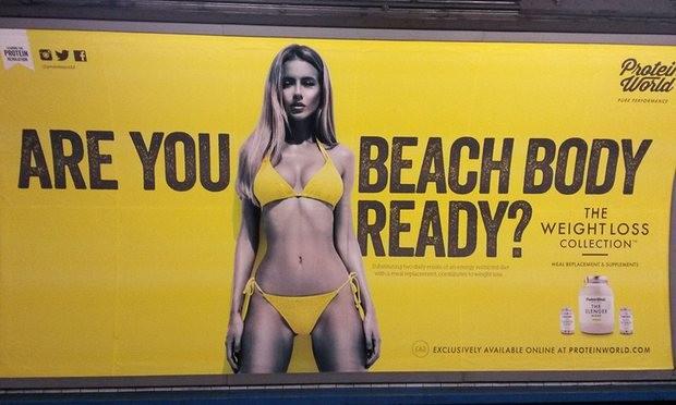 Mayor londrino quer banir imagens irrealistas do corpo dos anúncios nos transportes públicos