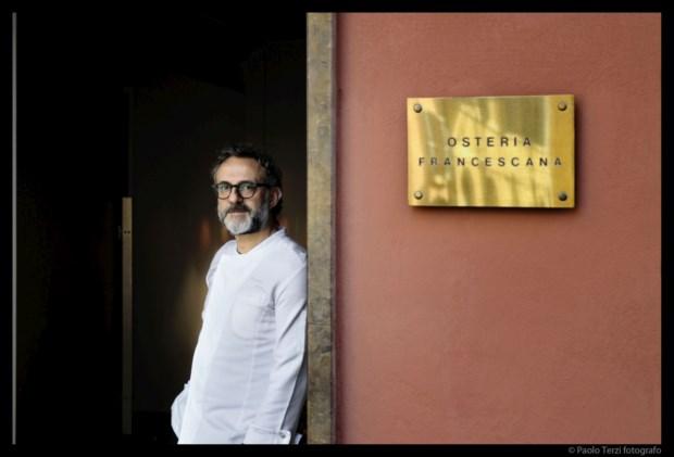 Massimo Bottura é o chef da Osteria Francescana