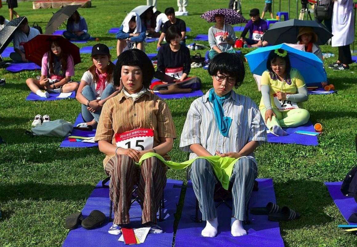 Na Coreia do Sul fazer nada é um desporto