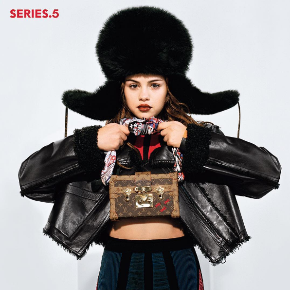 Selena Gomez é a cara da nova campanha da Louis Vuitton