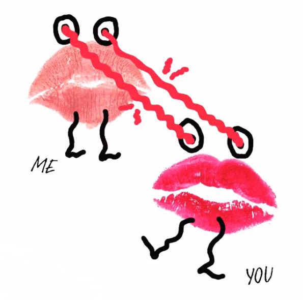 Beijar o ecrã do telemóvel é o desafio lançado pela Shiseido