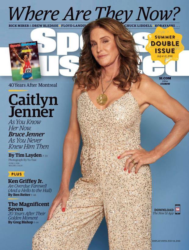 A capa da Sports Illustrated de Julho