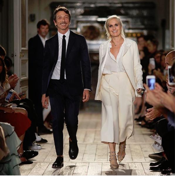 Valentino confirma saída de Maria Chiuri do cargo de directora criativa da marca