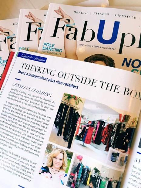 FabUplus é a primeira revista dedicada a pessoas plus-size
