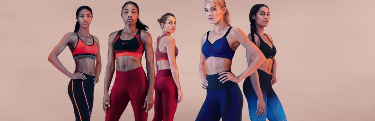 Sabe qual é o seu soutien desportivo ideal? A Nike dá uma ajuda