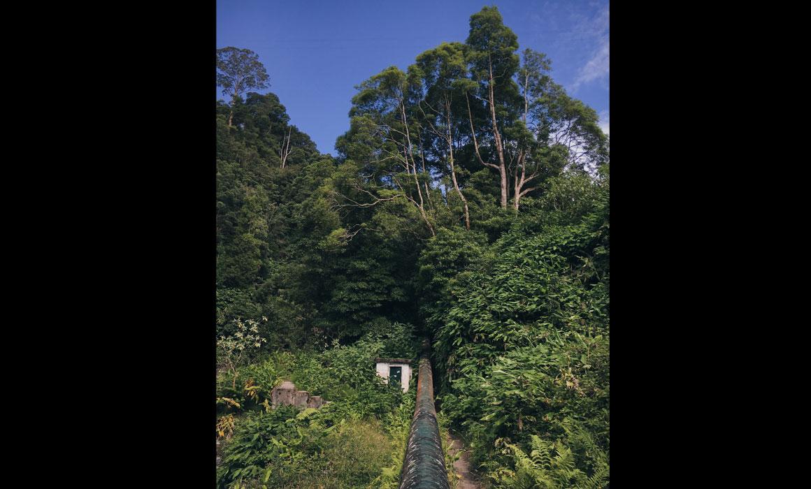 Percurso pedestre do Salto do Cabrito