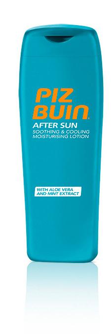 PizBuin After Sun: a loção hidratante suavizante e refrescante (preço sob consulta)