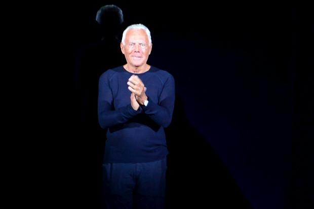 Giorgio Armani cria fundação em nome próprio para salvaguardar marca