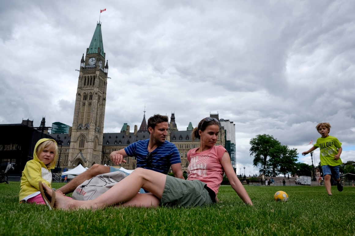 Canada, I love you. Canada, je t'aime