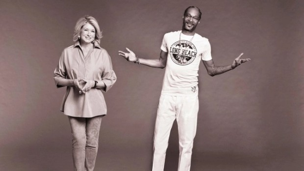 Snoop Dogg e Marta Stewart vão cozinhar semanalmente para celebridades na televisão