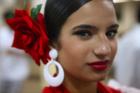 Espanha: Traje social usado pelas Gitanas nos princípios do século XIX