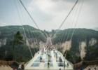 A mais alta e mais longa ponte de vidro do mundo