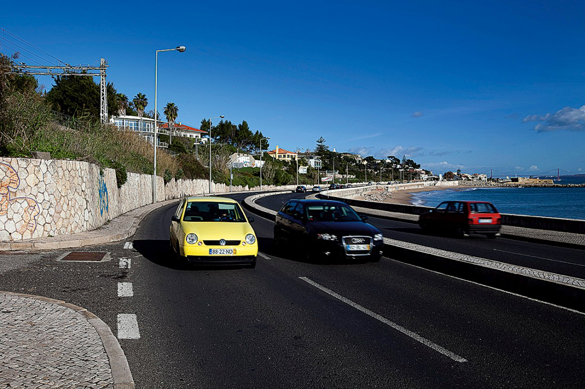 Marginal do Estoril é a melhor estrada costeira da Europa