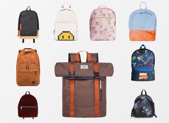 As mochilas para o regresso às aulas