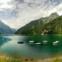 Luís Colaço Ribeiro (@24luisribeiro) - O lago de Klöntal, na Suíça. A história desta fotografia, contada pelo autor: