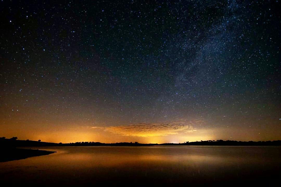 Ricardo Campos (@ricardocamp_): Céu estrelado do Alqueva.