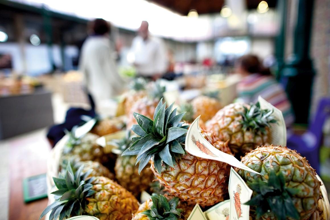 O ananás é o símbolo da hospitalidade