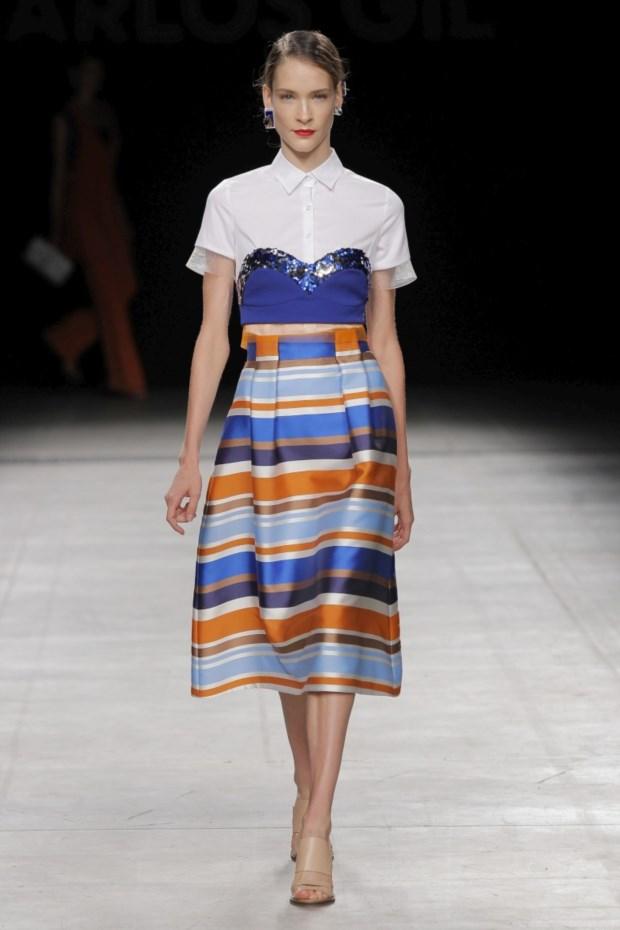 O primeiro desfile de Carlos Gil em Milão, com o apoio do Portugal Fashion, foi em Setembro de 2015