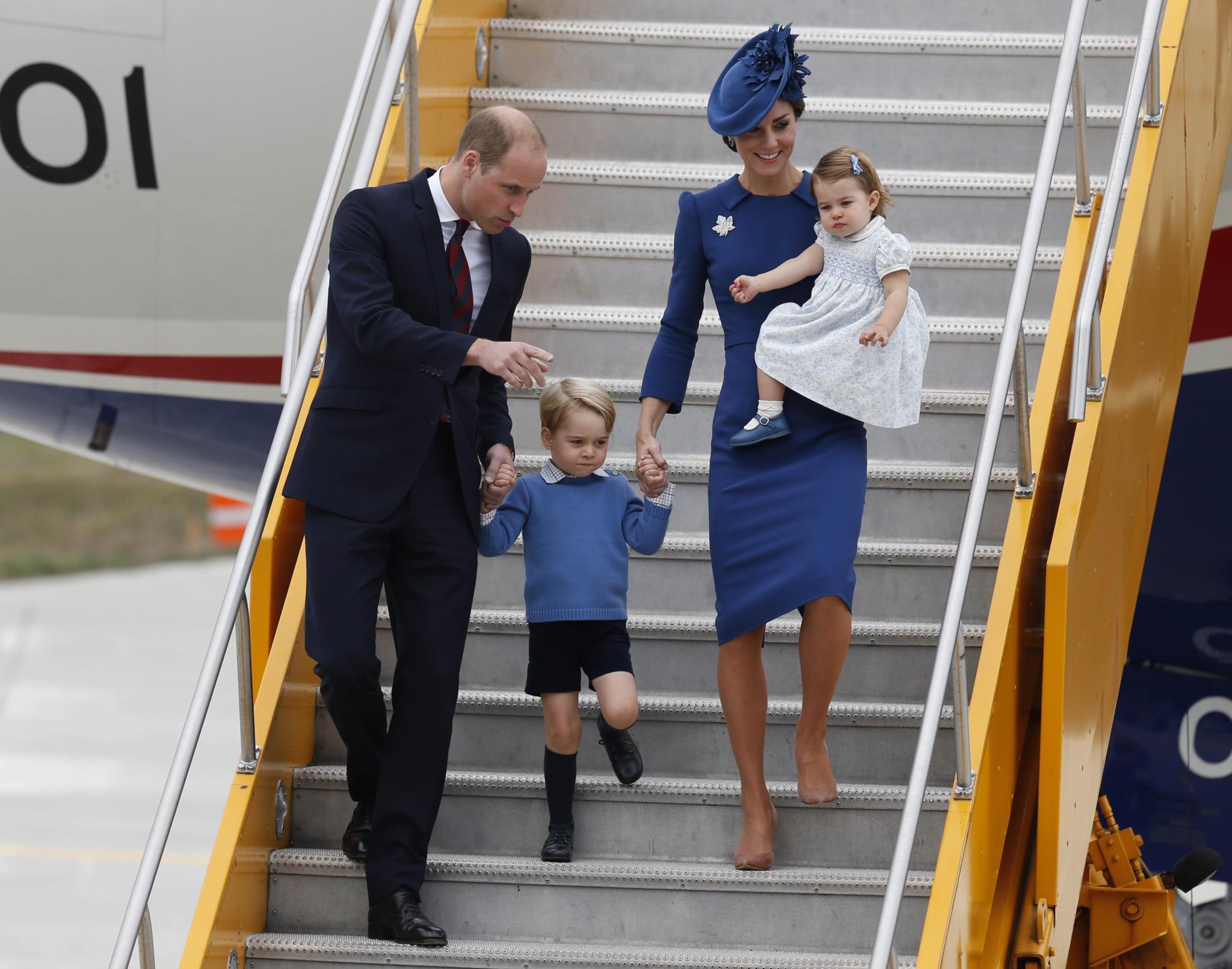 A visita dos Duques de Cambridge ao Canadá
