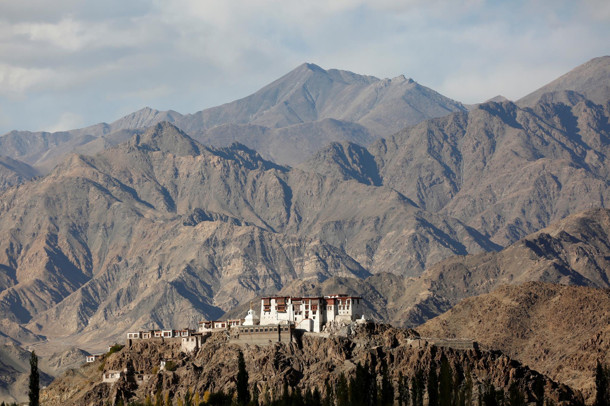 O Mosteiro de Stakna fica próximo de Leh