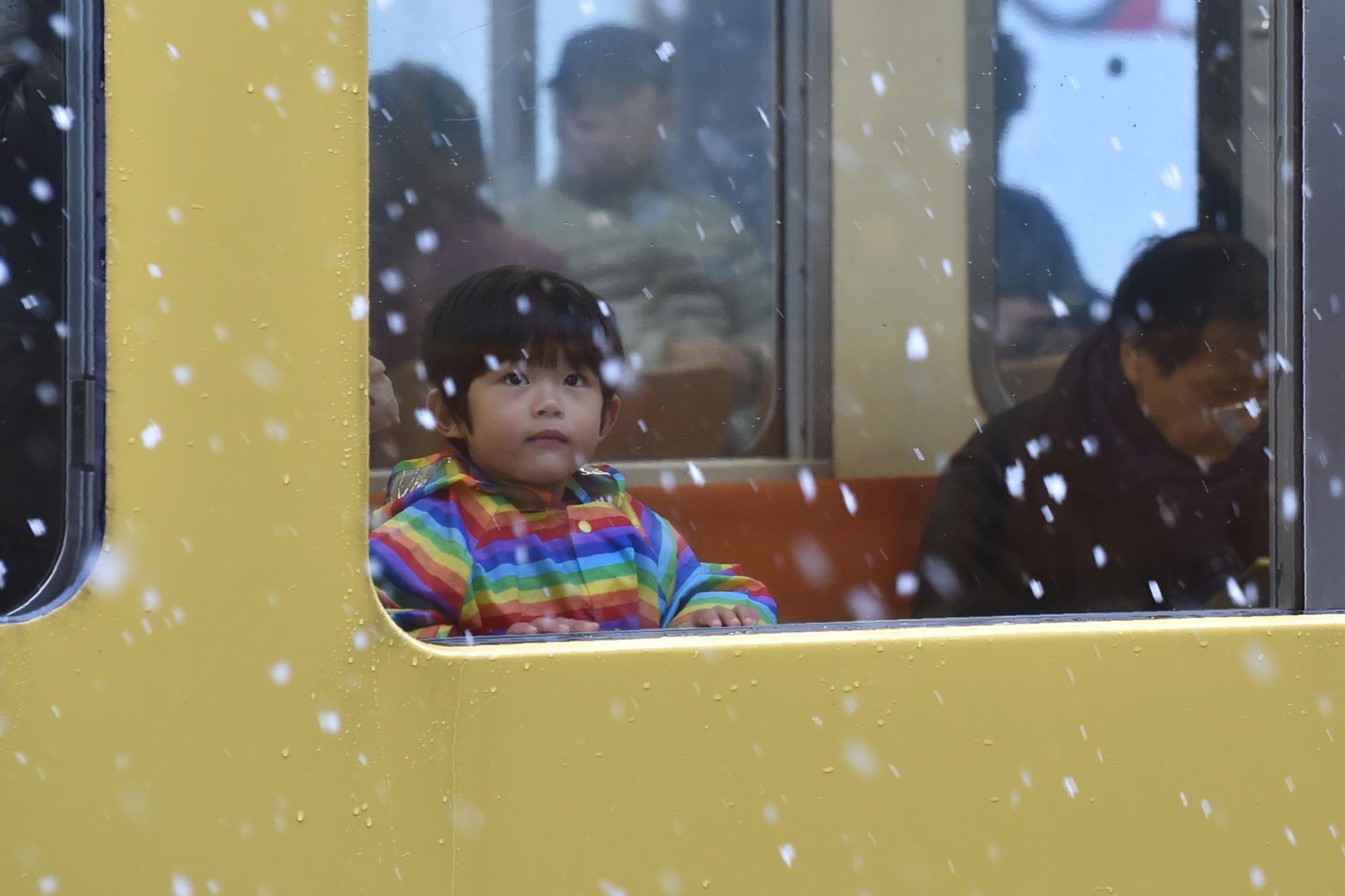 Tóquio: um manto de neve