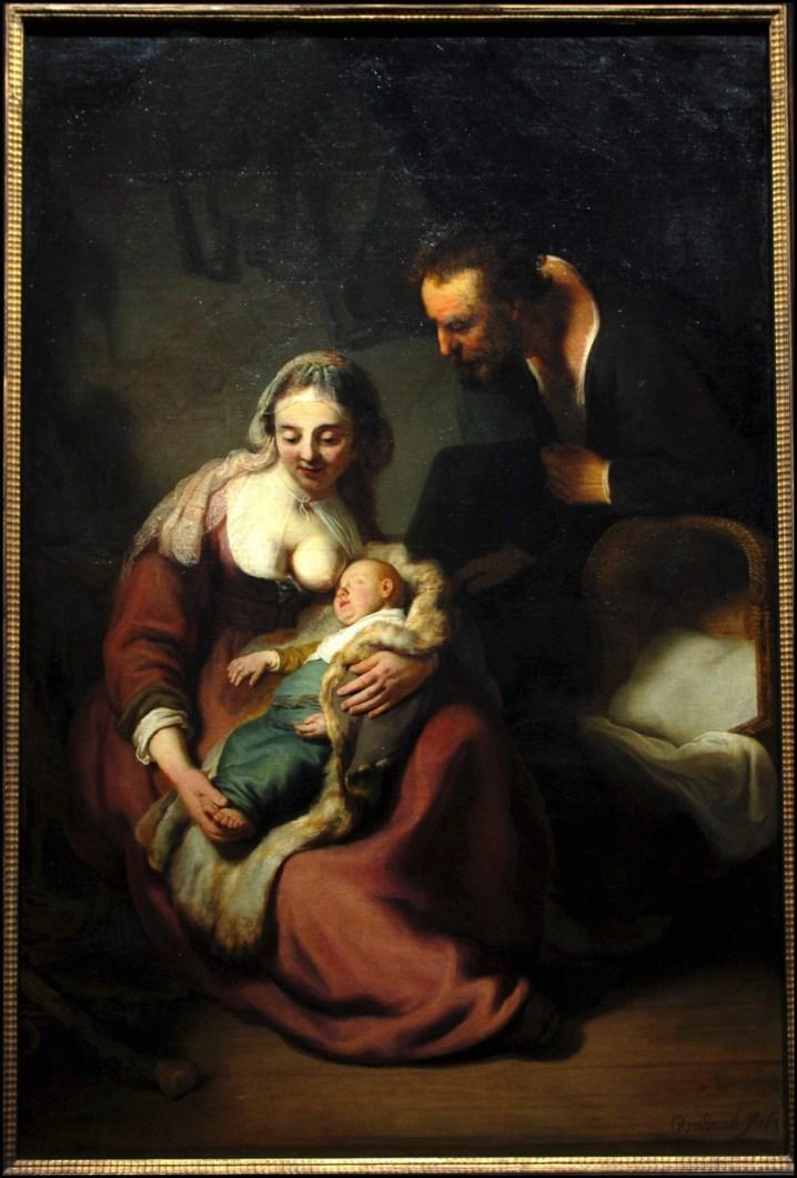 Maria, José e o menino: o nascimento do primeiro filho