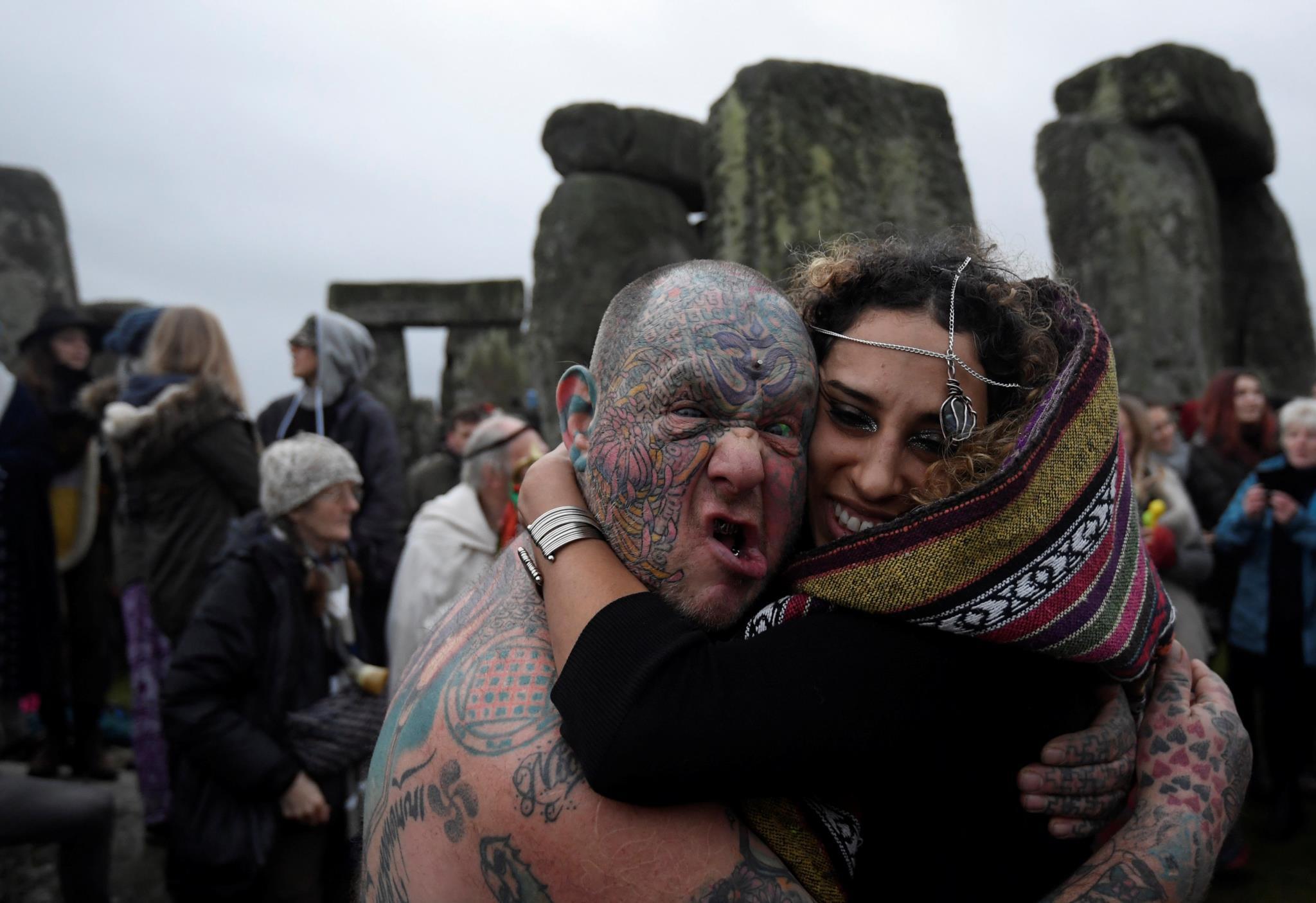 Stonehenge, no Reino Unido