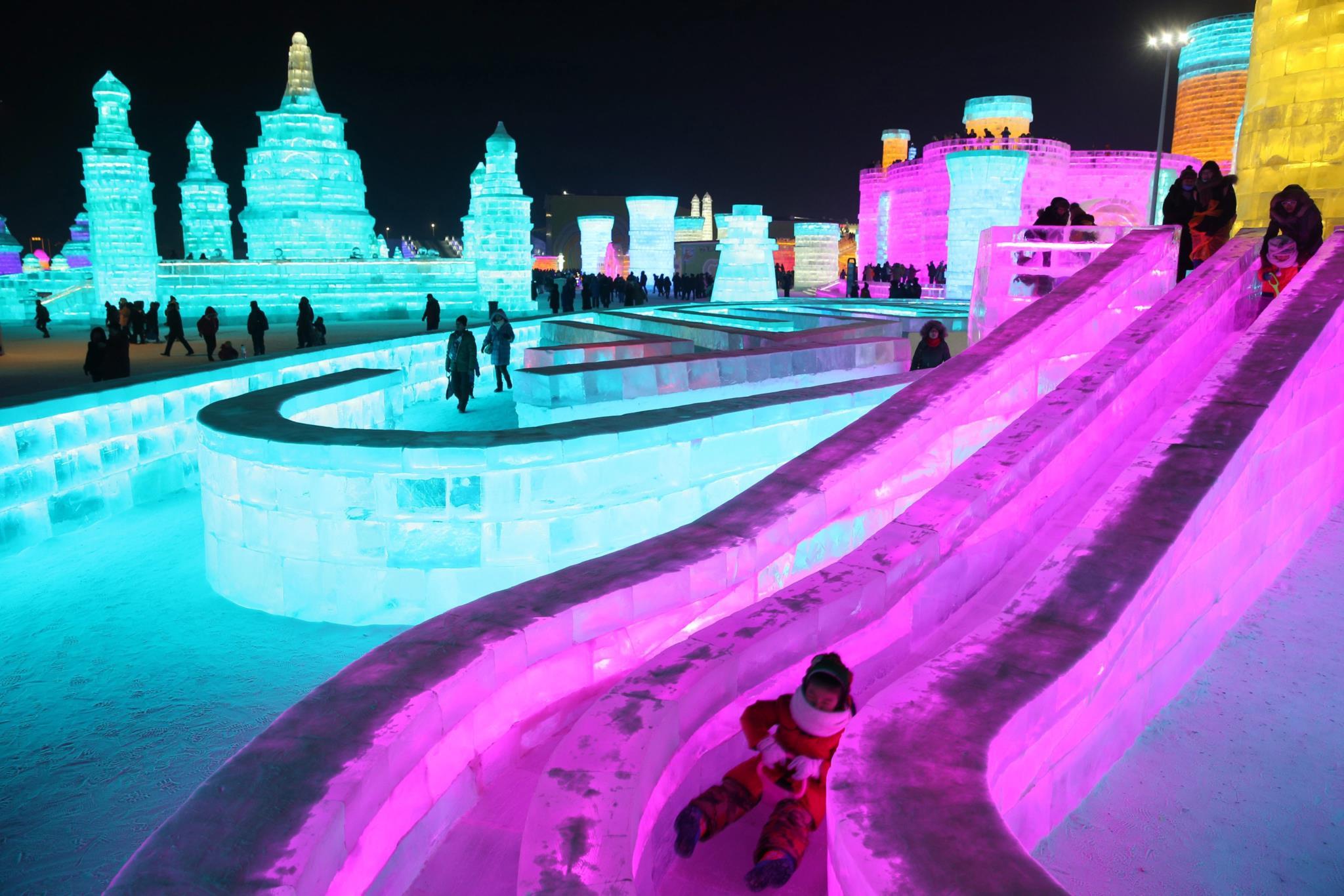 Do gelo faz-se cidade (e um festival)