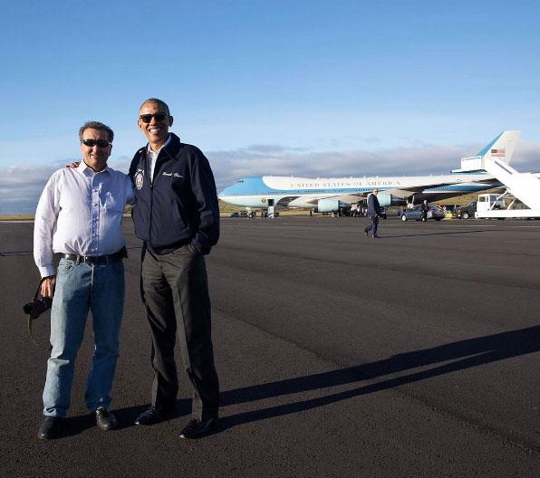"""Para Obama o seu fotógrafo Pete Souza é """"o açoriano"""""""