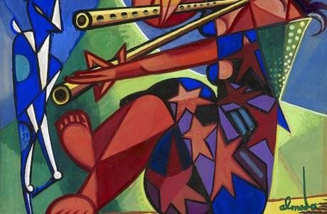 José de Almada Negreiros (1893-1970), Sem título, 1940. Colecção particular em depósito no Museu Calouste Gulbenkian – Colecção Moderna
