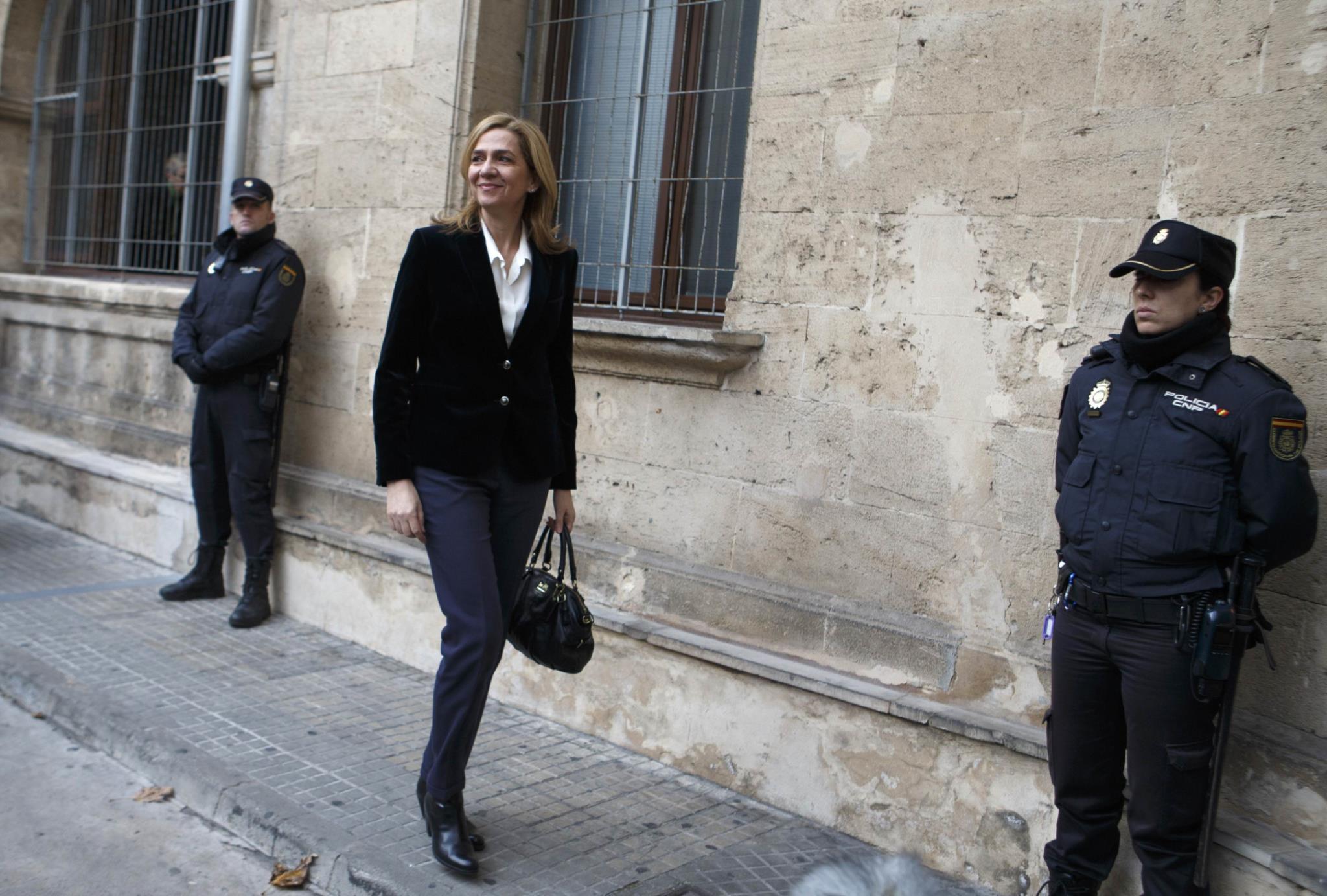 Infanta Cristina vai mudar-se para Lisboa