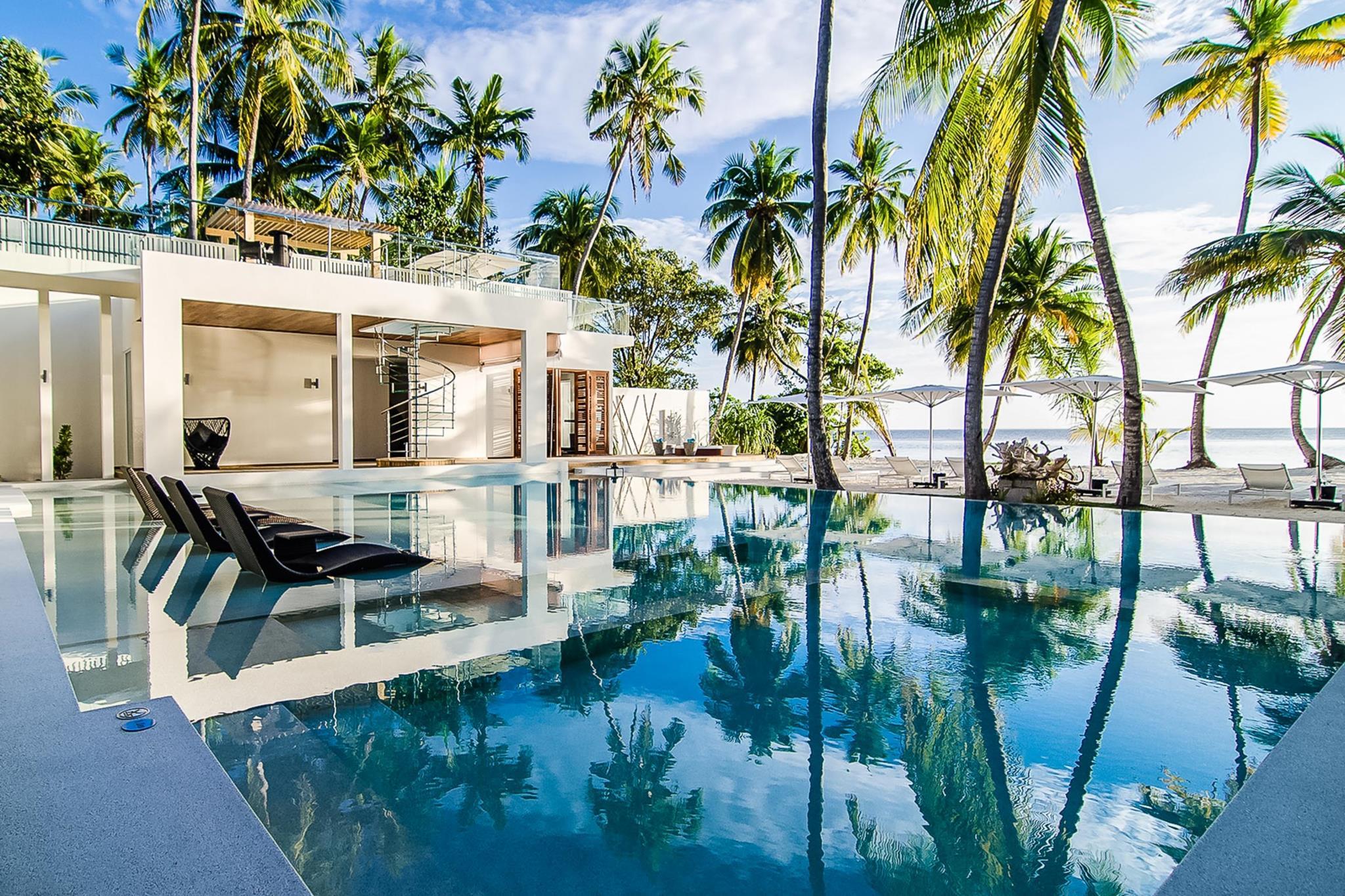 Amilla Villa Estate, em Baa Atoll, Maldivas (26.436 a 52.527 euros por noite)
