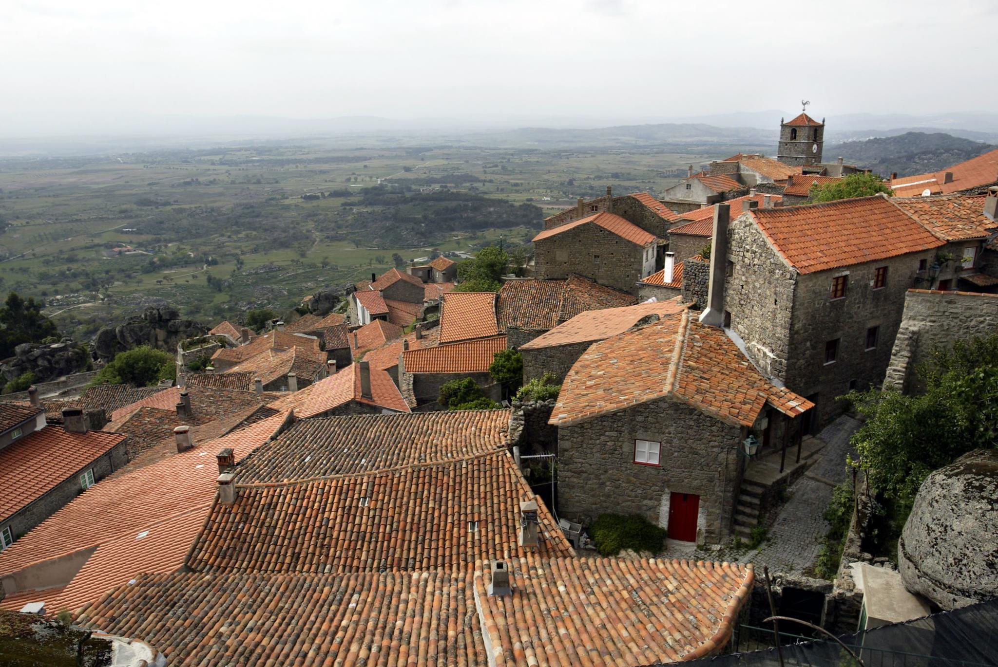 A região Centro registou o maior número de candidaturas: 159 aldeias (incluindo Monsanto, na foto)
