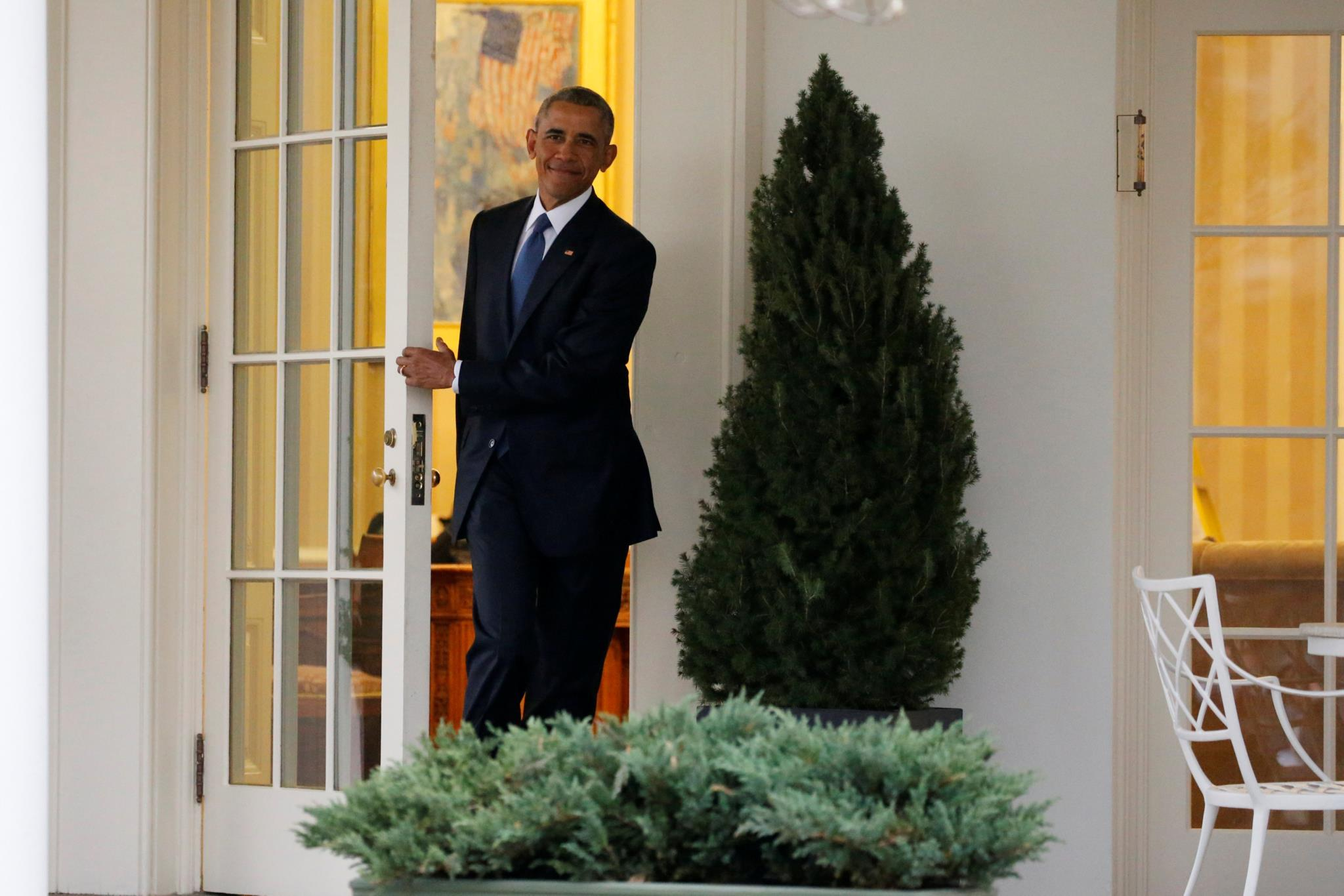 Obama na Casa Branca