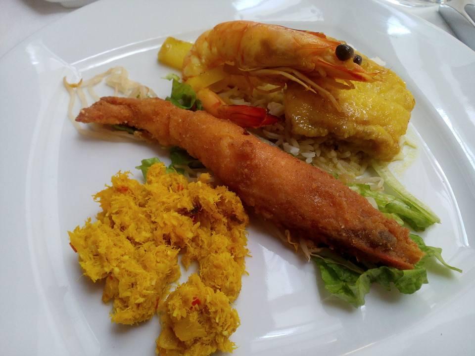 Menu de degustação - Peixe