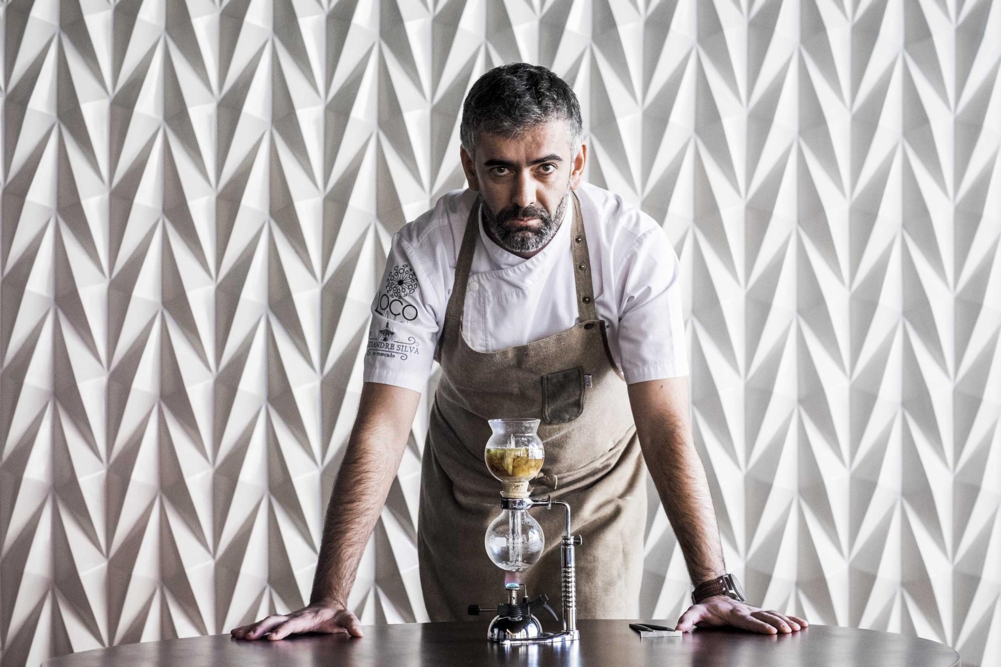 RG Rui Gaudencio - 28 Novembro 2016 - portugal, Lisboa - chefe Chef Alexandre Silva, do restaurante Loco, distinguido este ano com uma estrela michelin, Guia Michelin
