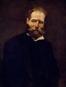 Retrato de Antero de Quental, Columbano Bordalo Pinheiro (pormenor)