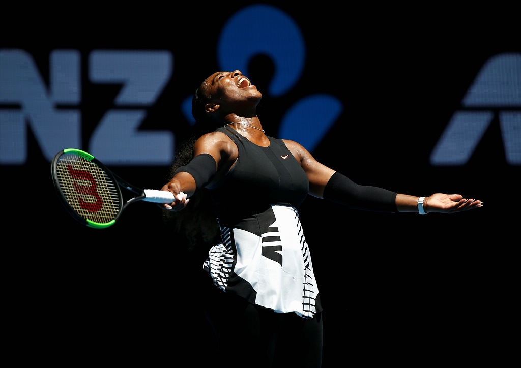 Serena Williams admite que anúncio da gravidez nas redes sociais foi acidental