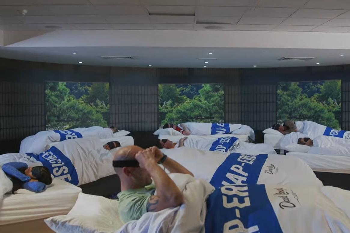 Napercise: uma aula de sono no ginásio