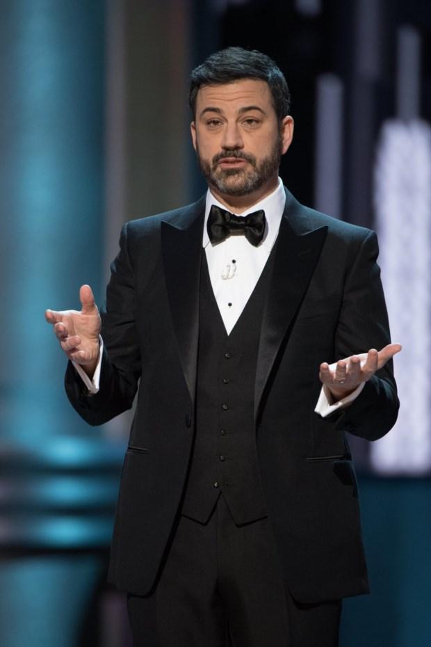 O comediante durante a cerimónia dos Óscares deste ano