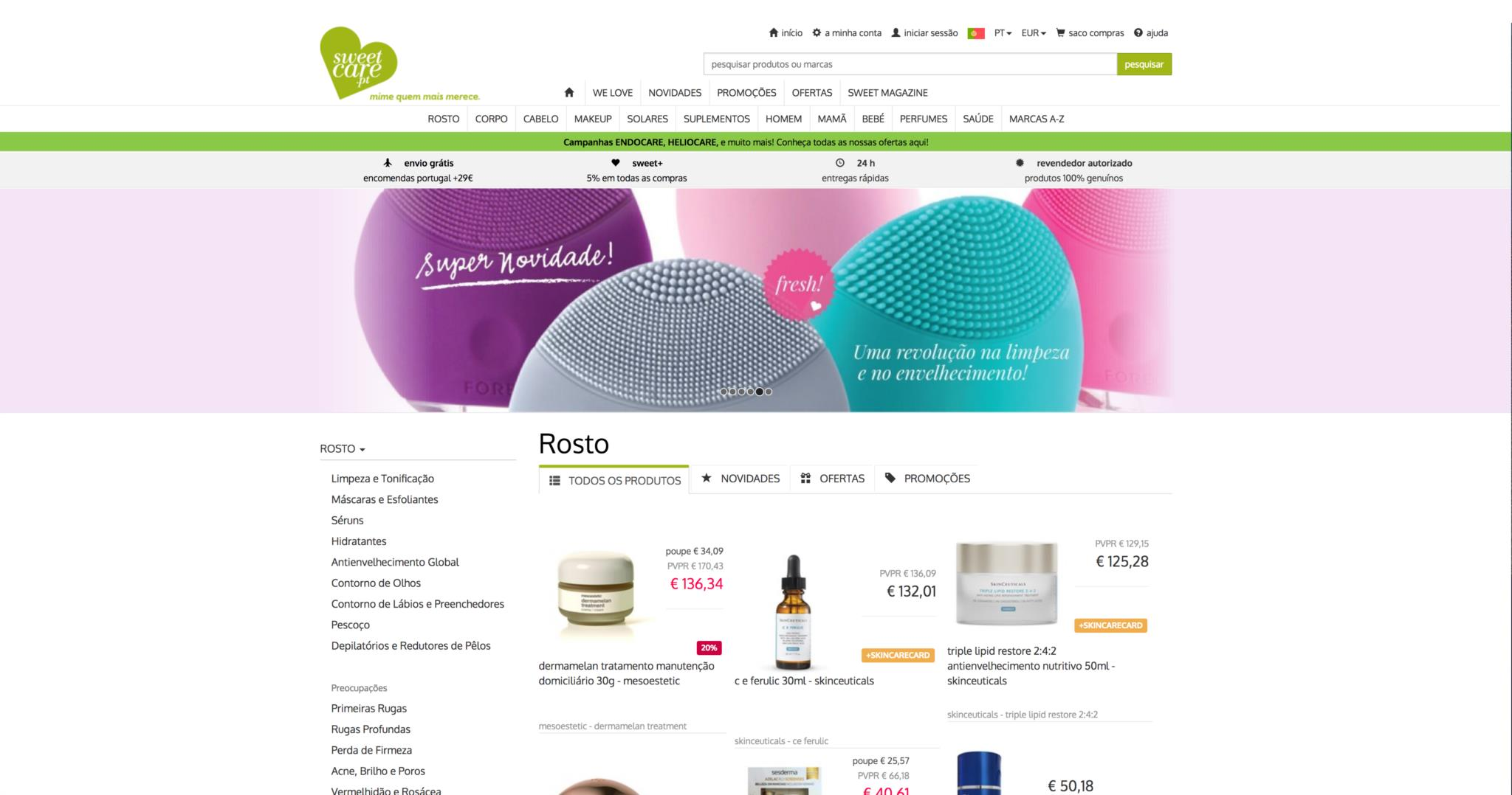 A portuguesa SweetCare quer vender mais em Portugal