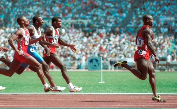 Ben Johnson ganhou a medalha de ouro nos 100m em Seul