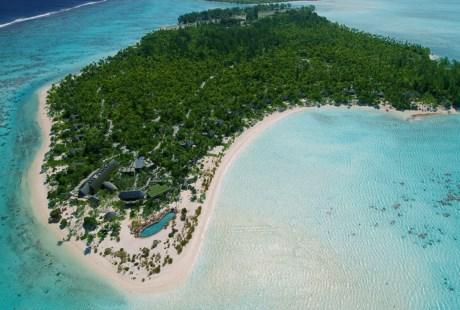 A ilha de Tetiaroa já foi propriedade do actor Marlon Brando
