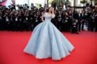 Aishwarya Rai, em Michael Cinco Couture, na estreia de