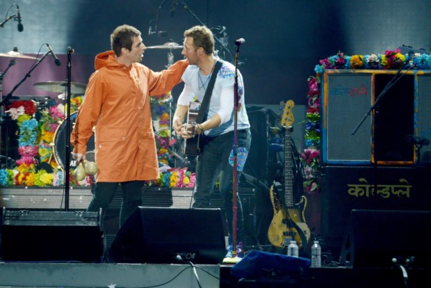Liam Gallagher e Chris Martin