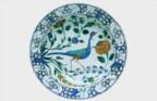 Prato fundo. Turquia, Iznik, final do século XVI