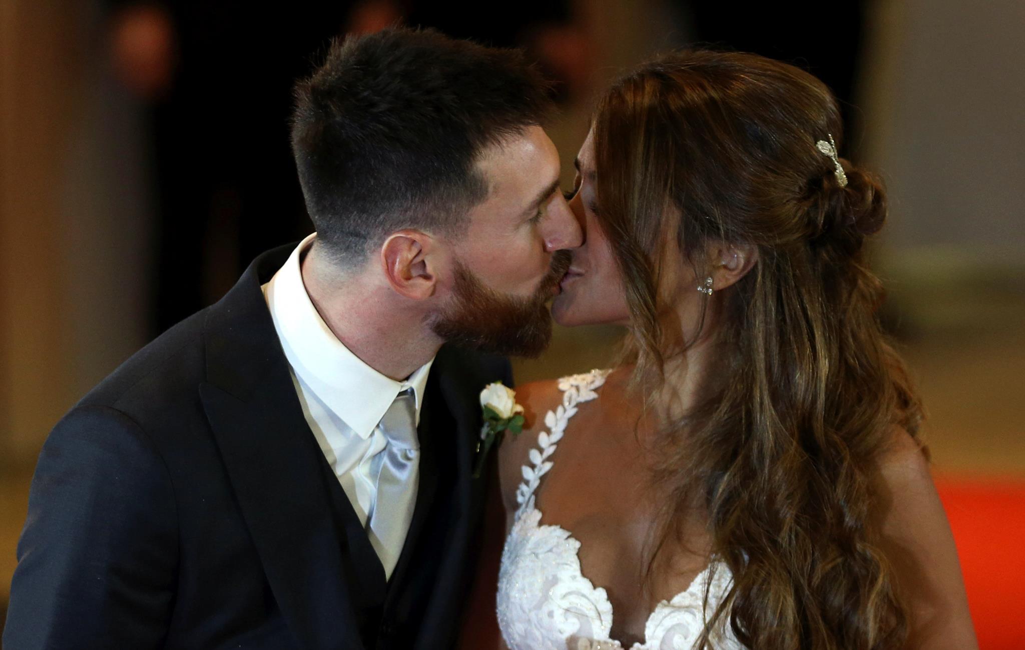 Lionel Messi e Antonela Roccuzzo